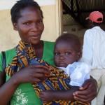 Donna con bambina