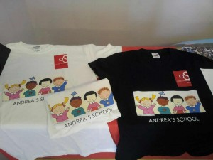t-shirt Andrea's School