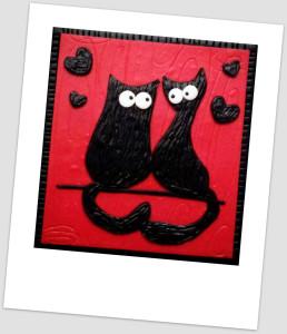 Gatti innamorati magnetici - Le Insolite cose