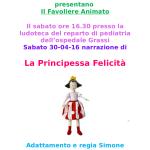 teatro presenta principessa felicità